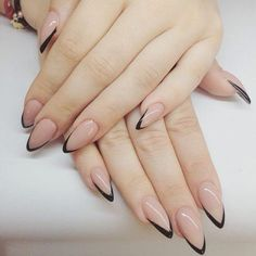 Pretty Nail Design-15 French tip nails