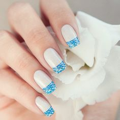 White French Tip Nail Design-4