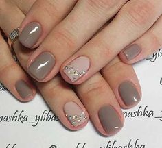 Taupe Nail Designs-7