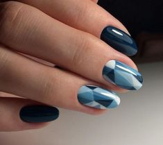 Glass pattern Summer Nail Designs