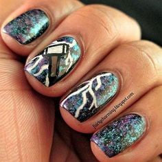 Thor Nail Designs- Thor's Hammer