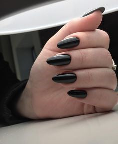 Black WidowNail Designs- Black mirror