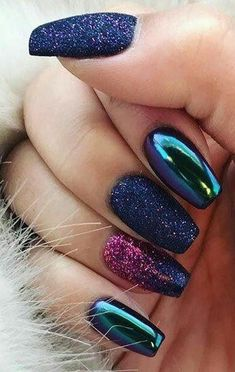 Metallic Mirror Nails-8