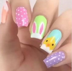 Easter Nail Designs-13