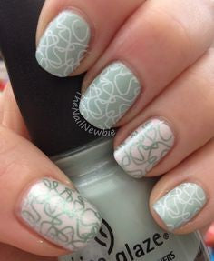 Simple and elegant nail designs for older ladies