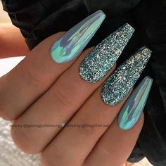 Metallic Mirror Nails-7