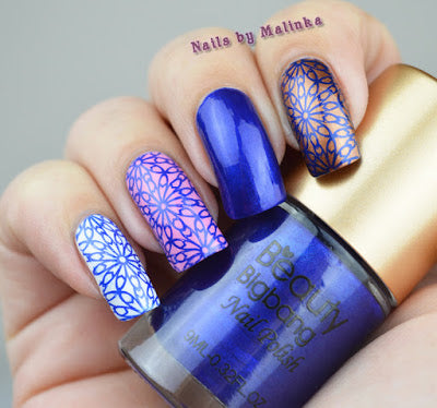 The Royal Blue Stamping Polish Currently Costs USD 299 Beauty BigBang Has Free Shipping Worldwide With Code MP10 You Get Another 10 Discount