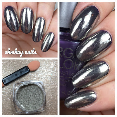 Silver Mirror Chrome Nail Powder