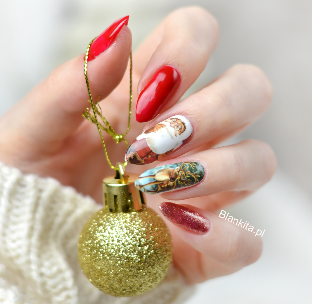 Hottest 50+ Christmas Nail Ideas for 2017-72
