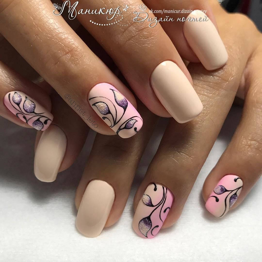Hottest 80+ Cute Spring Nail Designs 2018 | BeautyBigBang
