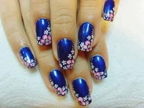 Florail Nail art design