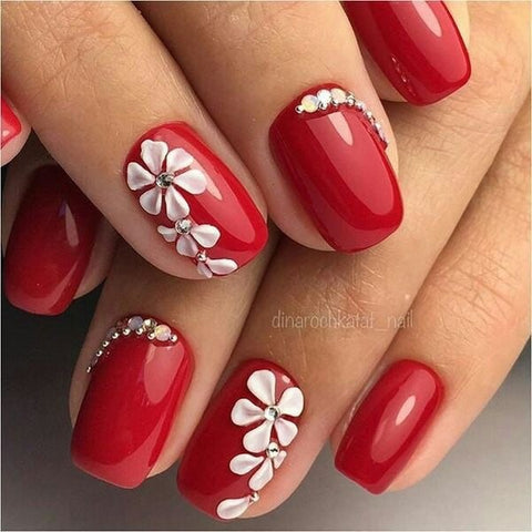 50 Best Floral Nail Art Designs 2018 Beautybigbang