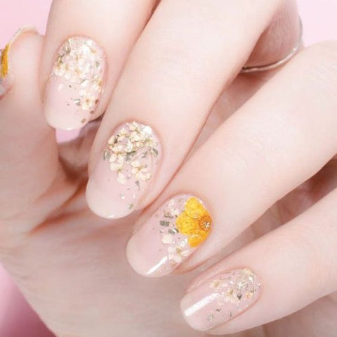 White And Pink Nail Art Designs
