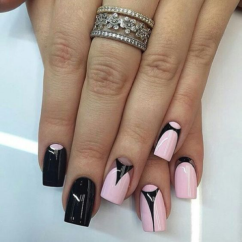 30 French Manicure Nail Designs For 2018 Beautybigbang