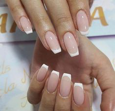 French Tip Nails-1