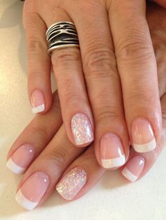 French Tip Nails-2