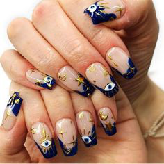 3D Stickers Autumn Nail Design