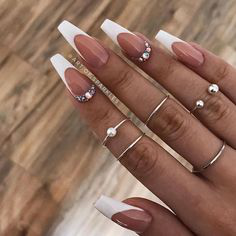 French Tip Nails-4