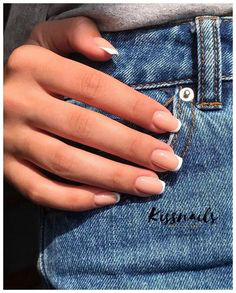 French Tip Nails-6