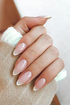 French Tip Nails-7