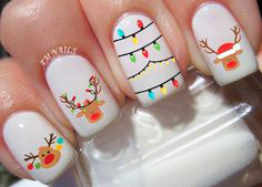 Christmas Nails-18 Cute Holiday nails