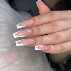 French Tip Nails-10
