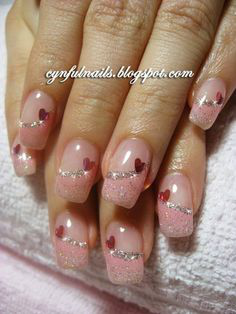 French Tip Nails-15
