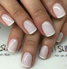 French Tip Nails-14