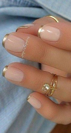 French Tip Nails-12