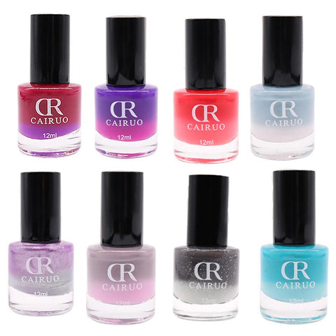 Thermal Nail Polish Temperature Color Changing Nail Polish