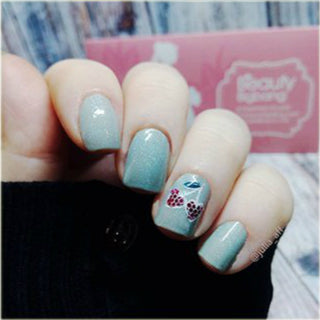 Valentine day nails-1