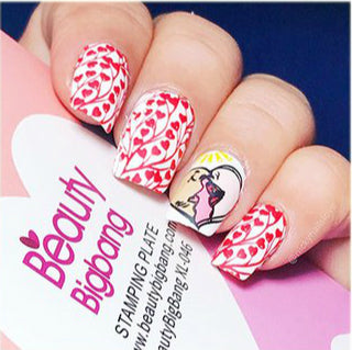 BeautyBigbang Valentine nails
