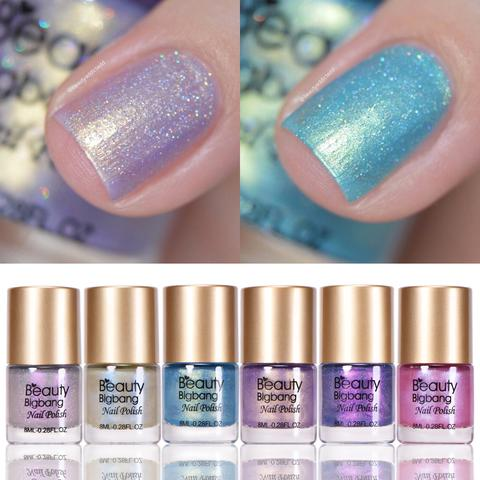 Mermaid nail polish