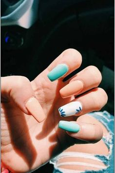 Cute Summer Nail Color Idea-15