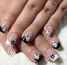 White French Tip Nail Design-3