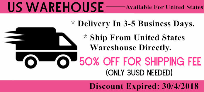 Dlievery in 3-5 Business Days From Unites States Warehouse Directly