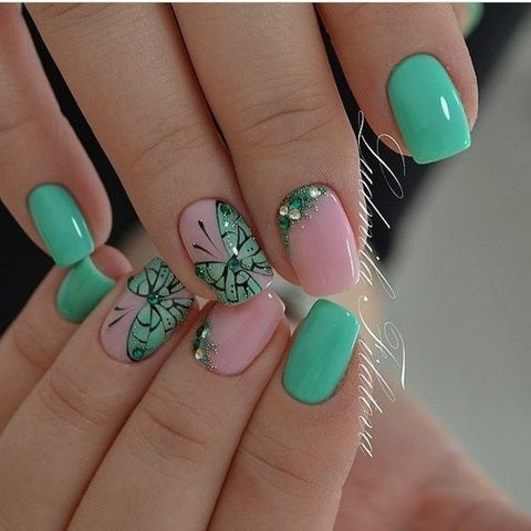 30 Butterfly Nail Art Designs 2018 Beautybigbang
