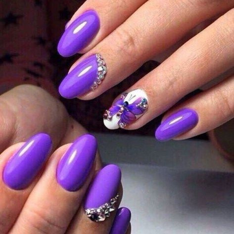 30+Butterfly Nail Art Designs 2018-