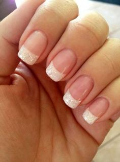White French Tip Nail Design-9