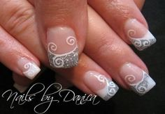 White French Tip Nail Design-1