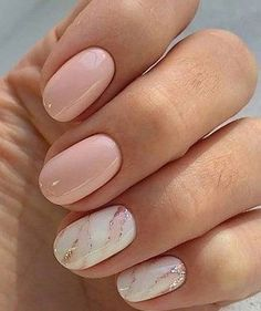 Pretty Nail Design-17 Oval nails