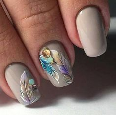 Taupe Nail Designs-9