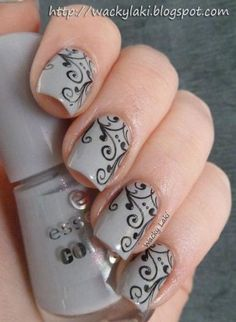 Taupe Nail Designs-4