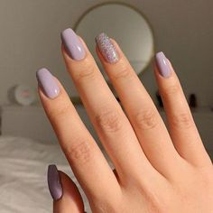Cute Summer Nail Color Idea-