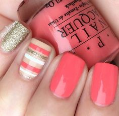 Cute Summer Nail Color Idea-10