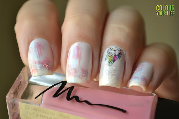 Dreamcatcher Nail Water Decals