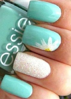Cute Summer Nail Color Idea-1