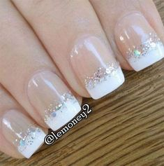 White French Tip Nail Design-11