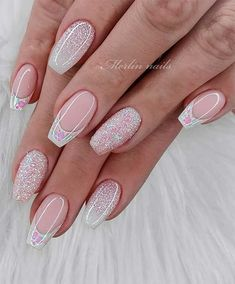 Long French Summer Nail Designs