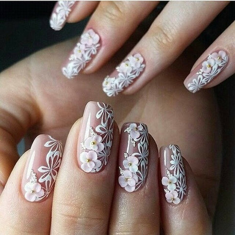 50+ Best Floral Nail art Designs 2018 | BeautyBigBang